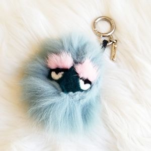 Fendi Monster Charm Blue and Pink Lazy Eyes